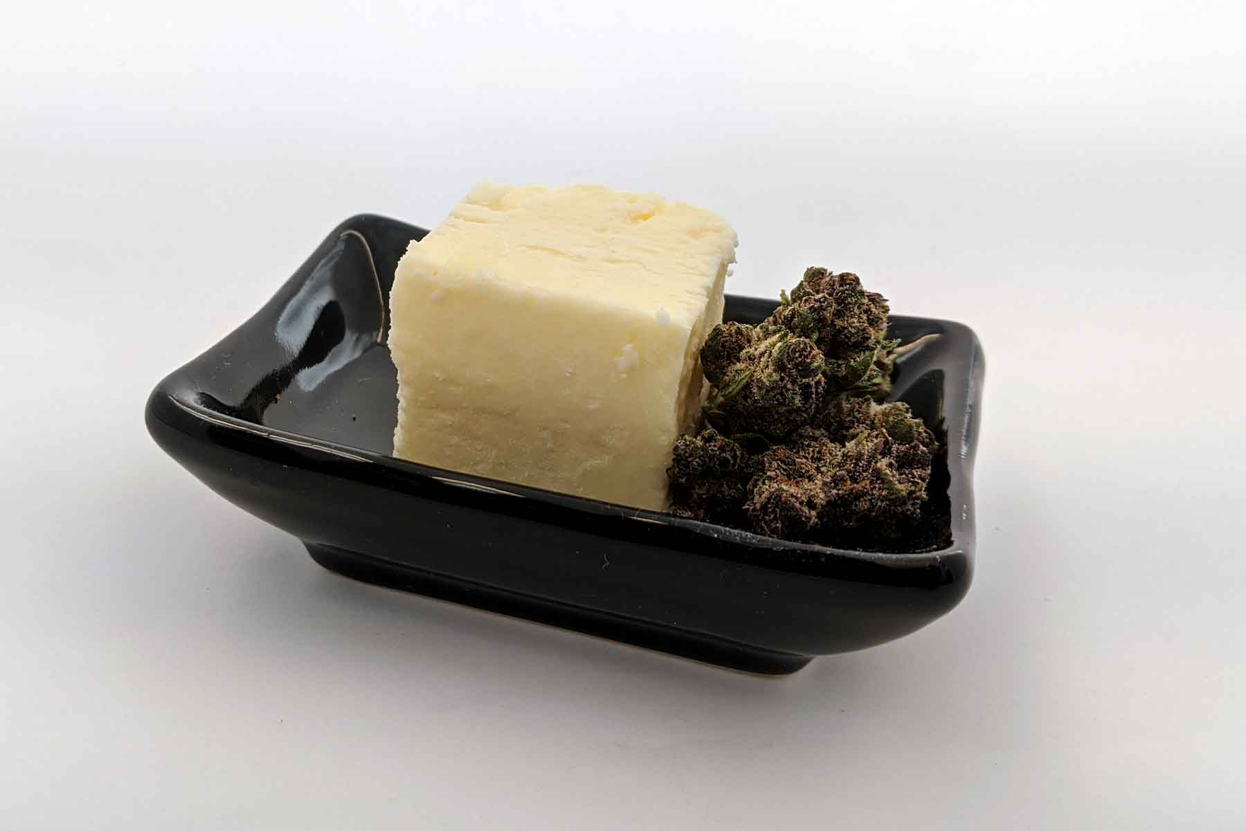 Cannabis infused butter.