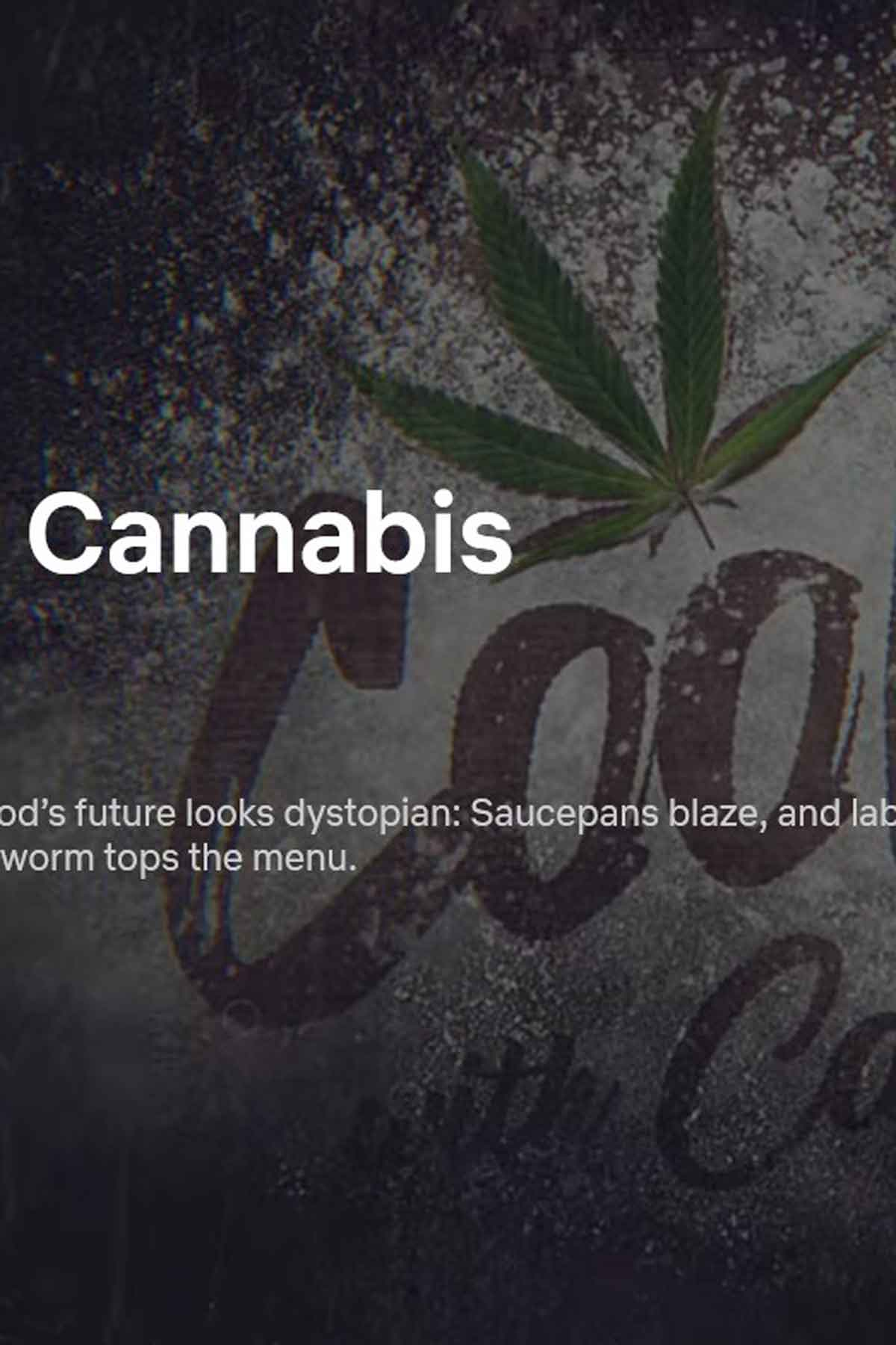 Cooked with Cannabis Netflix Paused mobile