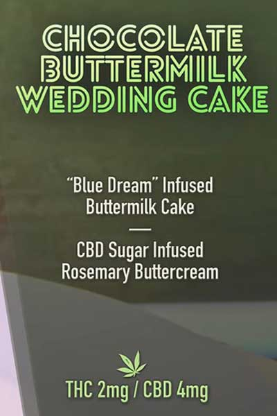Cooked with Cannabis buttermilk cake