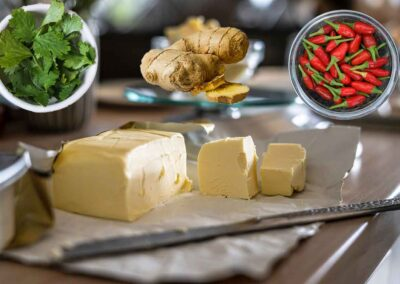 Chili Ginger Compound Butter
